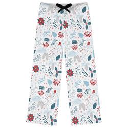 Winter Womens Pajama Pants (Personalized)