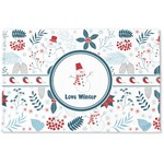Winter Woven Mat (Personalized)