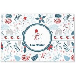 Winter Woven Mat (Personalized)