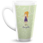 Custom Character (Woman) 16 Oz Latte Mug (Personalized)
