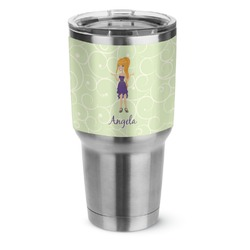 Custom Character (Woman) Stainless Steel Tumbler - 30 oz (Personalized)