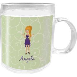 Custom Character (Woman) Acrylic Kids Mug (Personalized)