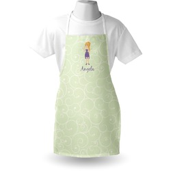 Custom Character (Woman) Apron (Personalized)