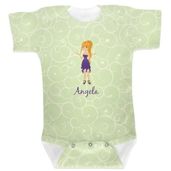 Custom Character (Woman) Baby Bodysuit 6-12 (Personalized)