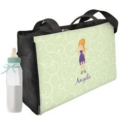 Custom Character (Woman) Diaper Bag (Personalized)