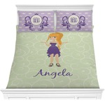 Custom Character (Woman) Comforters (Personalized)