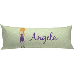 Custom Character (Woman) Body Pillow Case (Personalized)
