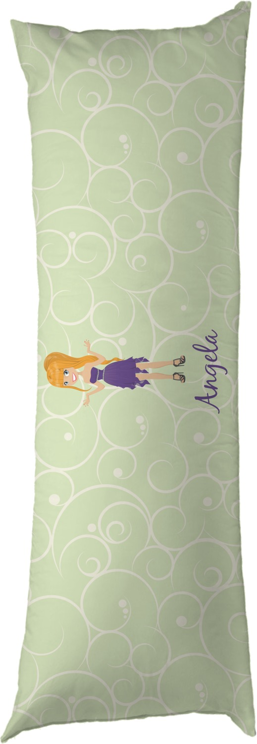 Custom Character Woman Body Pillow Case Personalized