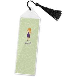 Custom Character (Woman) Book Mark w/Tassel (Personalized)