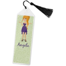 Custom Character (Woman) Book Mark w/Tassel (Personalized)
