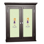Custom Character (Woman) Cabinet Decal - Custom Size (Personalized)