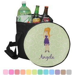 Custom Character (Woman) Collapsible Cooler & Seat (Personalized)