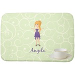 Custom Character (Woman) Dish Drying Mat (Personalized)