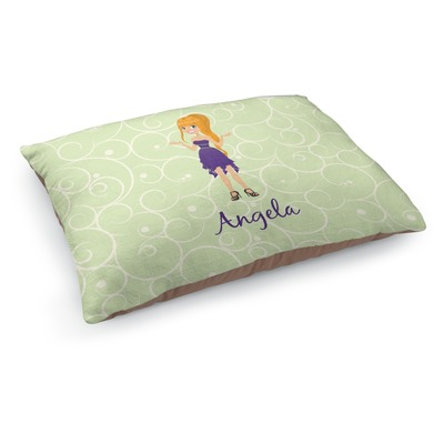Custom Character (Woman) Dog Bed (Personalized)