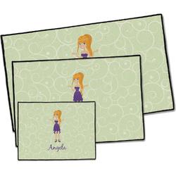 Custom Character (Woman) Door Mat (Personalized)