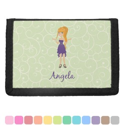 Custom Character (Woman) Trifold Wallet (Personalized)