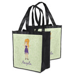 Custom Character (Woman) Grocery Bag (Personalized)