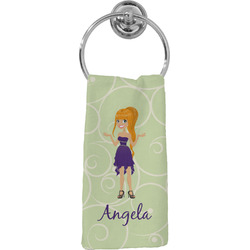 Custom Character (Woman) Hand Towel - Full Print (Personalized)