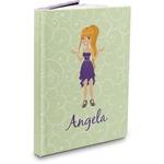 Custom Character (Woman) Hardbound Journal (Personalized)