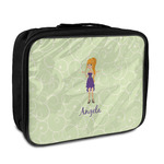 Custom Character (Woman) Insulated Lunch Bag (Personalized)