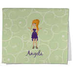 Custom Character (Woman) Kitchen Towel - Full Print (Personalized)
