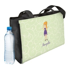 Custom Character (Woman) Ladies Workout Bag (Personalized)
