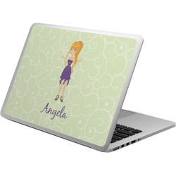 Custom Character (Woman) Laptop Skin - Custom Sized (Personalized)
