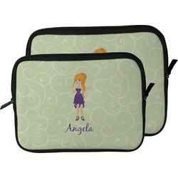 Custom Character (Woman) Laptop Sleeve / Case (Personalized)