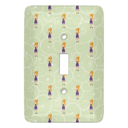 Custom Character (Woman) Light Switch Covers - Multiple Toggle Options Available (Personalized)