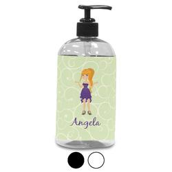 Custom Character (Woman) Plastic Soap / Lotion Dispenser (Personalized)