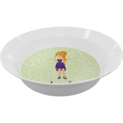 Custom Character (Woman) Melamine Bowls (Personalized)