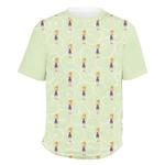 Custom Character (Woman) Men's Crew T-Shirt (Personalized)