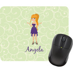 Custom Character (Woman) Mouse Pads (Personalized)