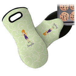 Custom Character (Woman) Neoprene Oven Mitt (Personalized)
