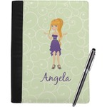 Custom Character (Woman) Notebook Padfolio (Personalized)