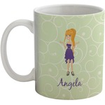 Custom Character (Woman) Coffee Mug (Personalized)