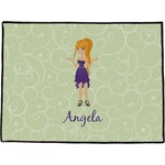 Custom Character (Woman) Door Mat (Personalized)