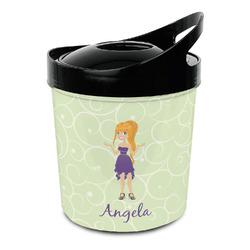 Custom Character (Woman) Plastic Ice Bucket (Personalized)