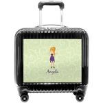 Custom Character (Woman) Pilot / Flight Suitcase (Personalized)