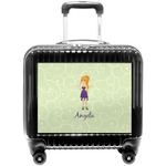 Custom Character (Woman) Pilot / Flight Suitcase (Personalized)