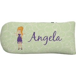 Custom Character (Woman) Putter Cover (Personalized)