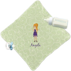 Custom Character (Woman) Security Blanket (Personalized)
