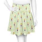 Custom Character (Woman) Skater Skirt (Personalized)