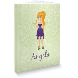 Custom Character (Woman) Softbound Notebook (Personalized)