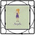 Custom Character (Woman) Square Trivet (Personalized)