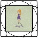 Custom Character (Woman) Square Trivet (Personalized)
