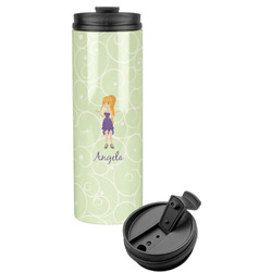 Custom Character (Woman) Stainless Steel Tumbler (Personalized)