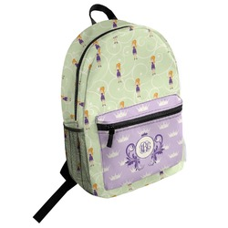 Custom Character (Woman) Student Backpack (Personalized)