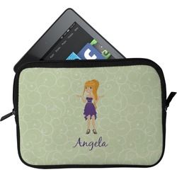 Custom Character (Woman) Tablet Case / Sleeve (Personalized)