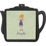 Custom Character (Woman) Teapot Trivet (Personalized)